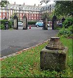 NZ2465 : Pedestal, Leazes Park, Newcastle by Stephen Richards