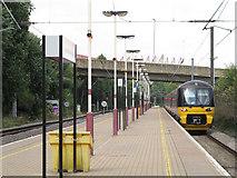 SE1633 : Bradford Forster Square: Skipton train by Stephen Craven