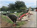 SP9014 : Repairs in progress on Dixon's Gap Bridge in 2015 by Chris Reynolds
