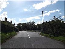 TM1763 : B1077 Aspall Road, Debenham by Adrian Cable