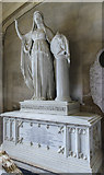 SK9239 : Monument to Lady Sophia Brownlow, Ss Peter & Paul church, Belton by Julian P Guffogg