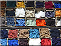 SK2957 : Coloured yarns - Masson Mill by Chris Allen