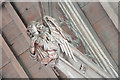 TL2744 : St Mary, Guilden Morden - Roof angel by John Salmon
