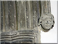 TL2744 : St Mary, Guilden Morden - Label head by John Salmon