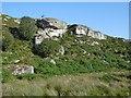 NZ0488 : Rothley Crags by Richard Webb