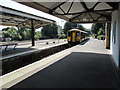 ST5716 : Arrival at Yeovil Pen Mill railway station by Jaggery
