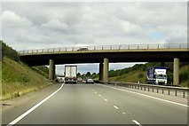 SU4773 : The A34 heading north by Steve Daniels