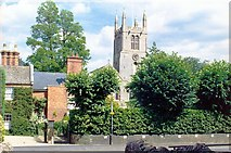 TF0919 : The view from South Street at Bourne, Lincolnshire by Rex Needle