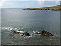 Q3809 : Tidal rocks in Smerwick Harbour by Oliver Dixon
