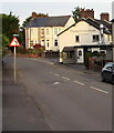 ST3090 : Left bend sign and speed bumps on Pillmawr Road, Malpas, Newport by Jaggery