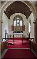 TF5176 : Chancel, St Margaret's church, Huttoft by Julian P Guffogg