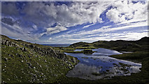 NB4118 : Loch na Buaile Duibhe by Peter Moore