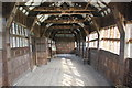 SJ8358 : The Long Gallery at Little Moreton Hall by Jeff Buck