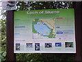 NJ7906 : 'Loch of Skene' guidance by Stanley Howe