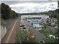 NT4936 : Galashiels railway station (site), Scottish Borders by Nigel Thompson