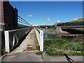 NY0202 : Cycleway and footpath bridge by Richard Law