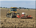 TA2429 : Seed drilling near Burstwick by Paul Harrop