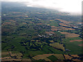 NS5874 : Balmore Golf Club from the air by Thomas Nugent
