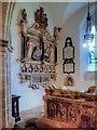 SK3140 : Memorial to Sir John Curzon, All Saints' Church, South Transept by David Dixon