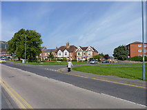 SO7845 : Junction of Pound Bank Road and Barnard's Green Road by Jeff Gogarty