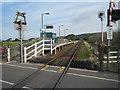 SH5726 : Llanbedr railway station, Gwynedd by Nigel Thompson