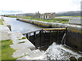 Q8013 : Sea lock, Tralee Ship Canal by Oliver Dixon