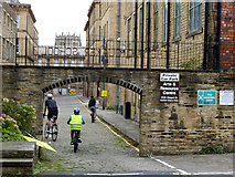 SE1633 : Arch to the Old Quaker School, Bradford by Stephen Craven