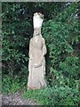TQ4906 : Sculpture at Charleston by Paul Gillett