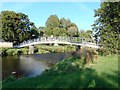 NU0501 : Footbridge over the River Coquet by Bill Henderson