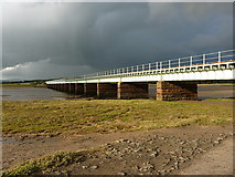 SD0894 : Eskmeals viaduct by Richard Law