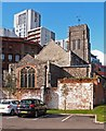 TM1644 : Church of St Mary-at-the-Quay, Ipswich by Jim Osley