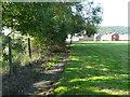 SE1121 : Elland FP23 alongside the recreation ground at Heathfield by Humphrey Bolton