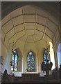 SD4692 : The vaulted ceiling, All Saints Church, Underbarrow by Karl and Ali