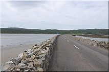 NC5758 : Kyle of Tongue Causeway by Richard Webb