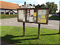 TM1065 : Mendlesham Village Notice Board by Adrian Cable