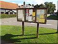 TM1065 : Mendlesham Village Notice Board by Geographer