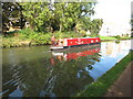 TQ1282 : Still Waters, narrowboat on Paddington Branch canal by David Hawgood