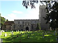 TM1065 : St.Mary's Church, Mendlesham by Adrian Cable