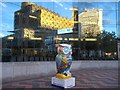 SP0686 : Reflections in Birmingham ICC by Philip Halling