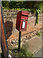 TM1166 : Brockford Street Postbox by Adrian Cable