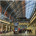 TQ3082 : Looking for Eurostar check-in, St Pancras International station, London by Robin Stott