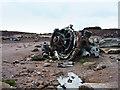 SK0994 : Aircraft wreckage by Stephen Burton