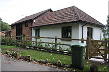 SP4802 : Pickett's Heath Barn by Roger Templeman