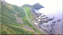 C9444 : Tourist Bus Road along the Giant's Causeway by James Emmans