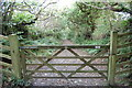 SS2117 : Gate towards the South West Coast Path by Julian P Guffogg