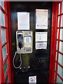 SO9645 : A pay phone in a telephone box by Jeff Gogarty