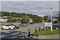 SN5981 : Plascrug Leisure Centre car park by Ian Capper
