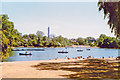 TQ2782 : Regents Park, 1989: Boating Lake by Ben Brooksbank