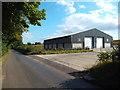 TL0201 : New building near Flaunden by Malc McDonald