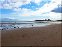 NU2422 : The beach at Dunstan Steads by Gordon Brown